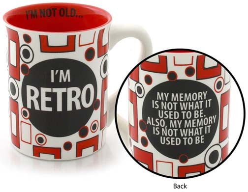 I'm Retro Mug - Our Name is Mud - Jules Enchanting Gifts