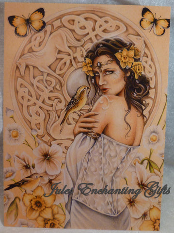 Rhiannon - 5 x 7 Fairy Art Print - Munro Gifts - Jules Enchanting Gifts