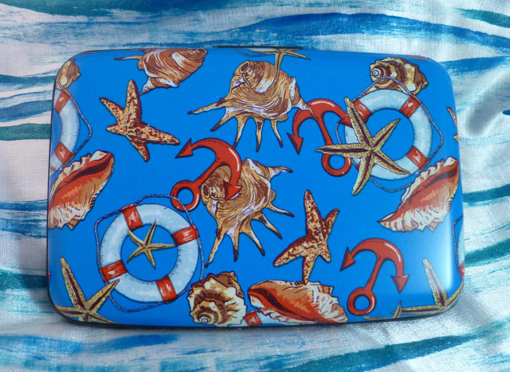 Wallet - Coastal Anchors & Life Preservers - Fig Design - Jules Enchanting Gifts