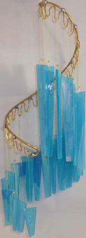 Light Opera Wind Chime - Seafoam Small - Winter Garden Gallery - Jules Enchanting Gifts