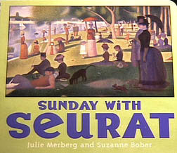 Sunday with Seurat Board Book - Hachette Book Group - Jules Enchanting Gifts