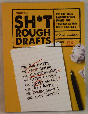 Sh*t Rough Drafts - Hachette Book Group - Jules Enchanting Gifts