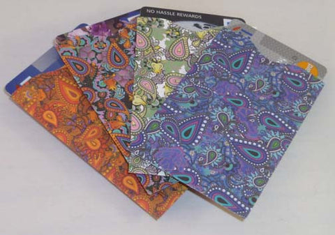 Wallet Sleeves - Paisley - Fig Design - Jules Enchanting Gifts