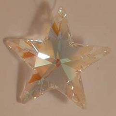 Star 40mm Aurora Borealis - Crystals - Jules Enchanting Gifts