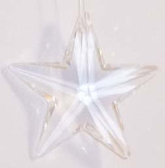 Star 28mm Clear - Crystals - Jules Enchanting Gifts