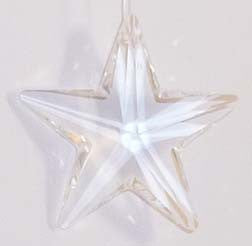 Star 40mm Clear - Crystals - Jules Enchanting Gifts