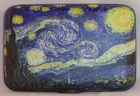 Wallet Fine Art - Starry Night - Fig Design - Jules Enchanting Gifts - 1