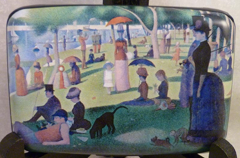Wallet Fine Art #5 - Seurat's Sunday Afternoon
