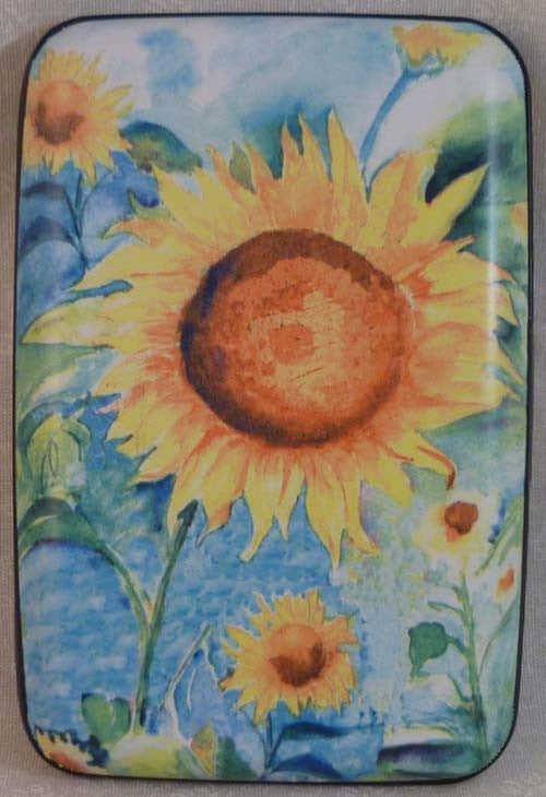 Wallet Flowers - Sunflowers - Fig Design - Jules Enchanting Gifts