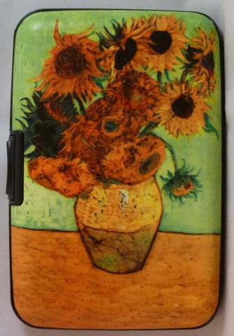 Wallet Fine Art - Sunflowers - Fig Design - Jules Enchanting Gifts