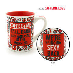 Coffee + Me Mug - Our Name is Mud - Jules Enchanting Gifts