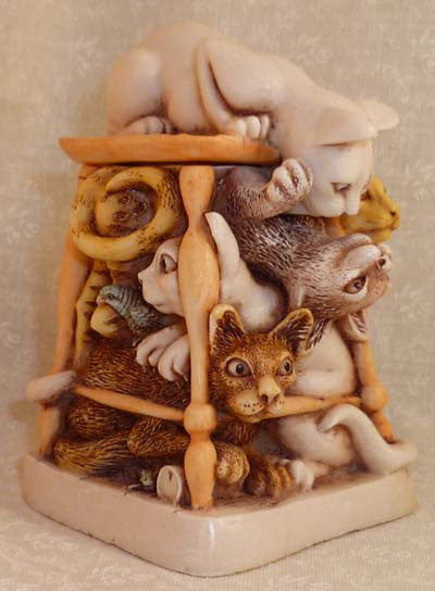 Tony's Tabbies - Harmony Kingdom - Jules Enchanting Gifts
