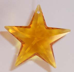 Star 28mm Topaz - Crystals - Jules Enchanting Gifts