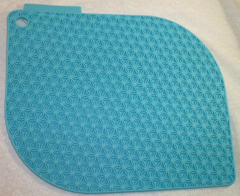 Honeycomb Potholder Turquoise Blue - Charles Viancin - Jules Enchanting Gifts