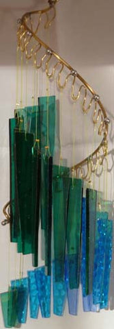 Light Opera Wind Chime - Water Large - Winter Garden Gallery - Jules Enchanting Gifts - 1