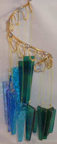 Light Opera Wind Chime - Water Small - Winter Garden Gallery - Jules Enchanting Gifts