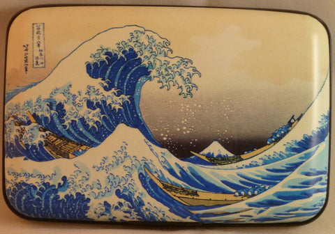 Wallet Fine Art #3 - The Wave - Fig Design - Jules Enchanting Gifts