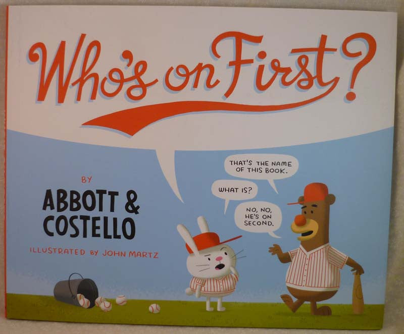 Who's On First? - Random House - Jules Enchanting Gifts