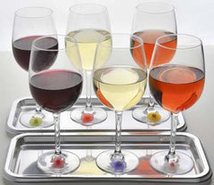 Drink Markers Floral - Charles Viancin - Jules Enchanting Gifts