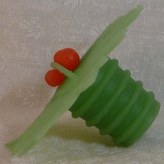 Winterberry Bottle Stopper - Charles Viancin - Jules Enchanting Gifts