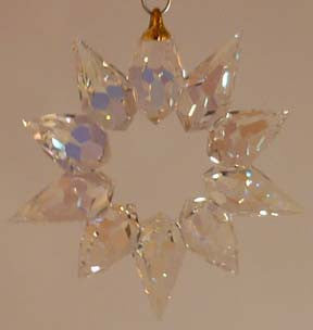 Christmas Star 55AB - Crystals - Jules Enchanting Gifts