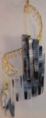 Light Opera Wind Chime - Zebra Small - Winter Garden Gallery - Jules Enchanting Gifts - 2