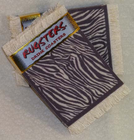 Rugsters - Zebra - Fig Design - Jules Enchanting Gifts