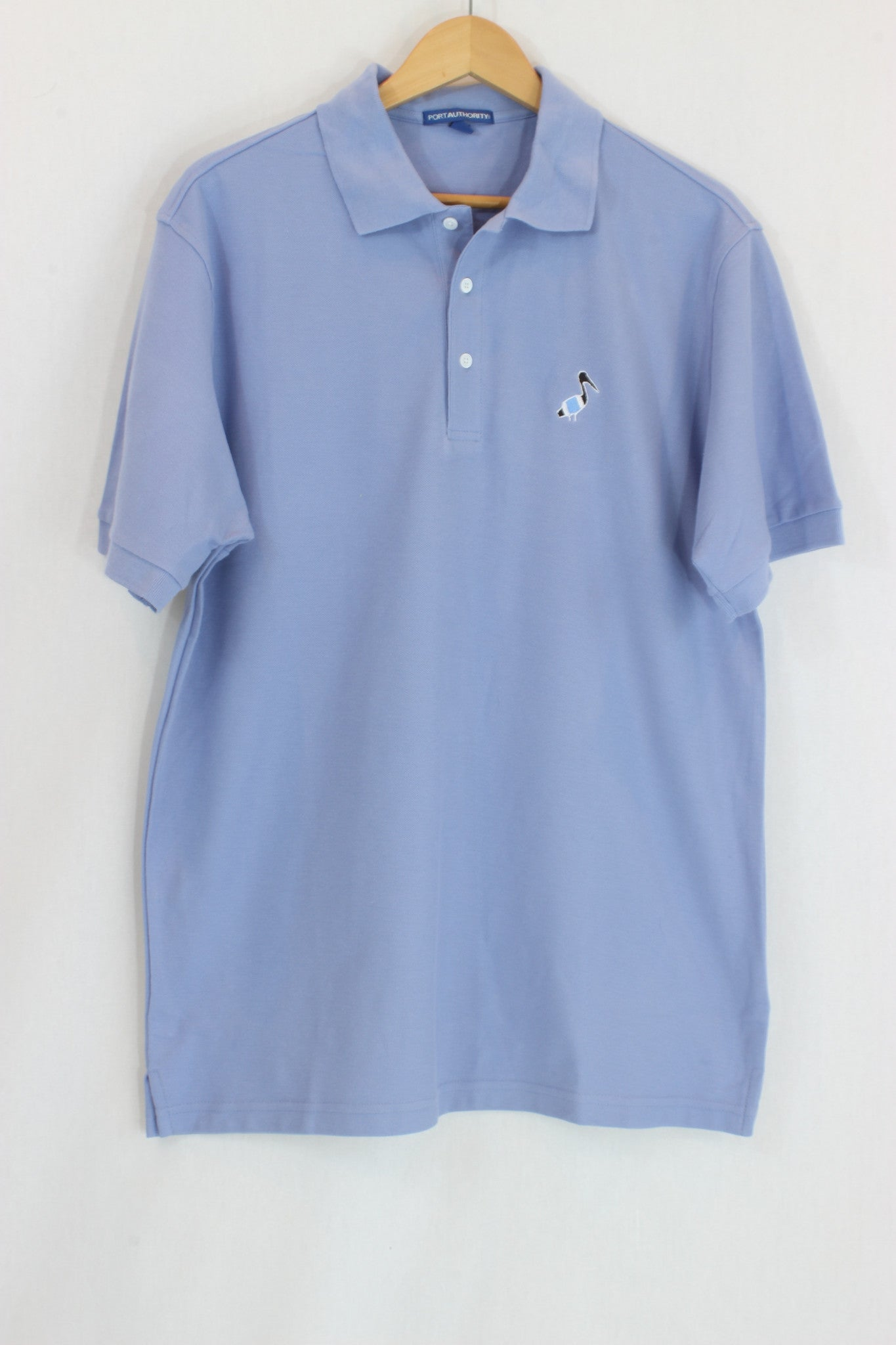 Pelican logo polo shirt pelican 39 s perch clothing for Polo shirts with logos