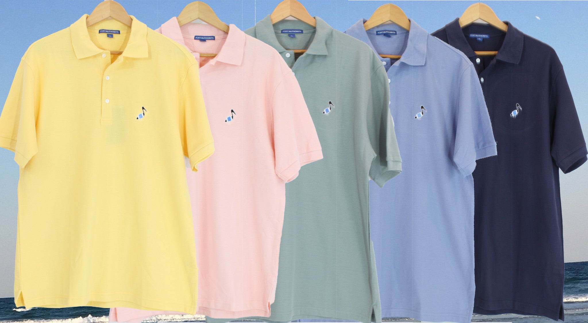 Pelics's Perch Polo Shirts Now Available!