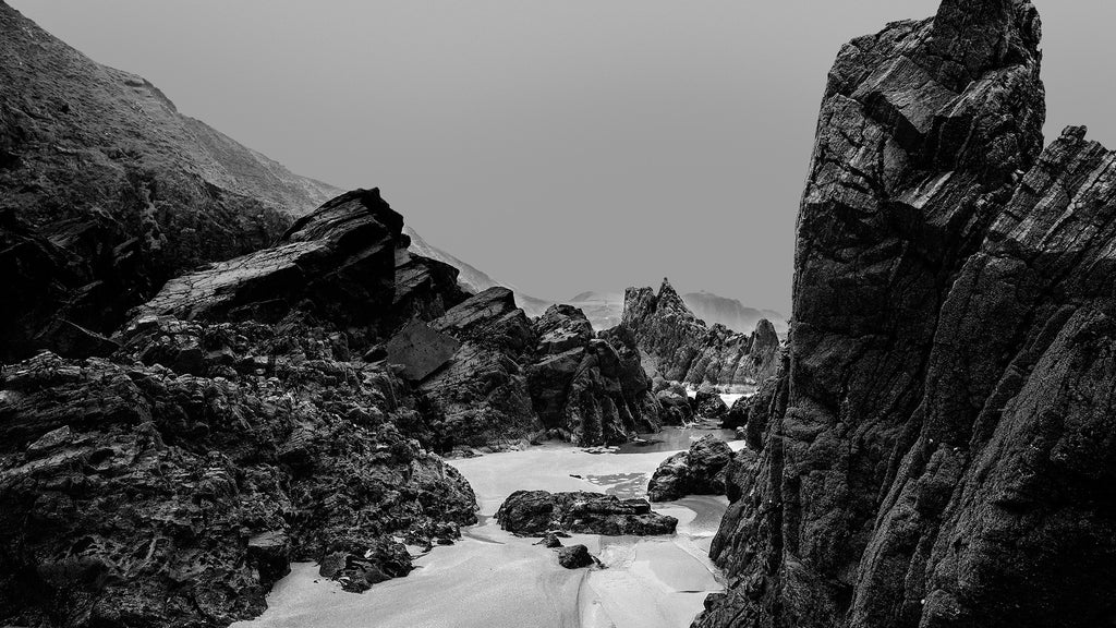 Large Rocks On The Beach, Isle of lewis