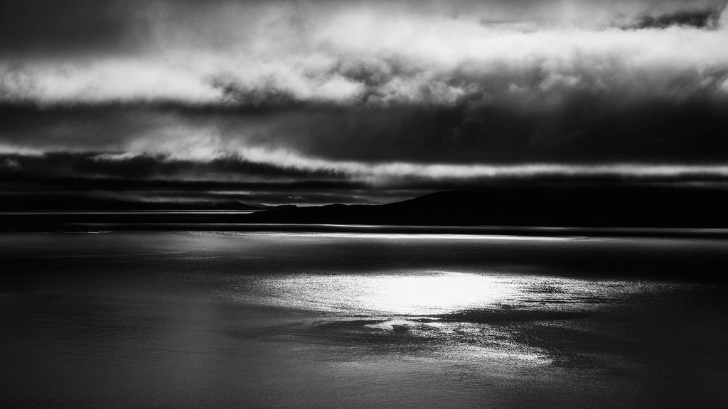 Light on loch, Outer Hebrides