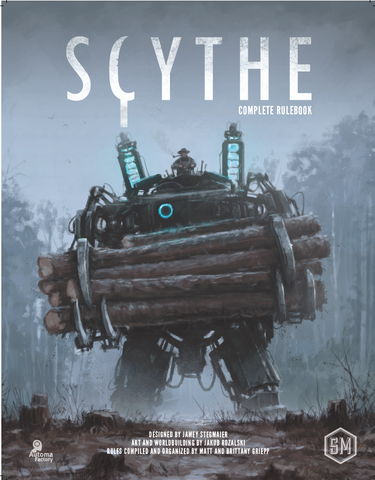 Scythe Complete Rulebook (hardcover)