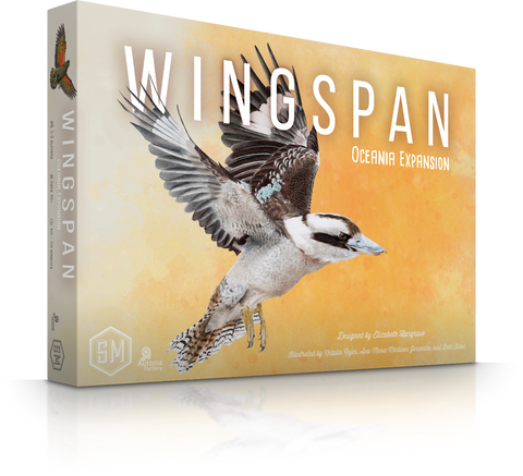 Wingspan Oceania Expansion (back in stock in May)