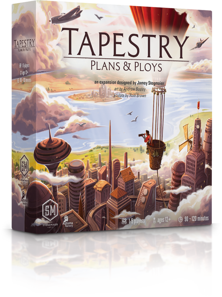 Tapestry: Plans & Ploys (Stonemaier Games)