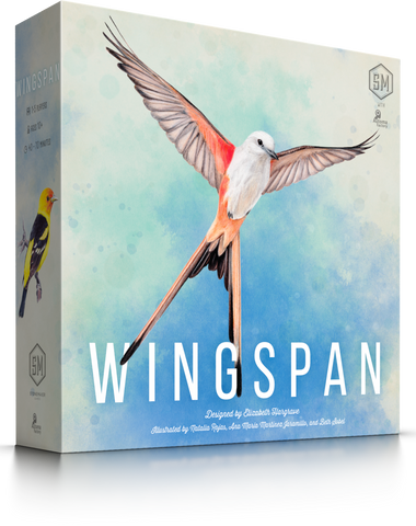 Wingspan (mid-September preorder for US; mid-July preorder for CA; in stock in EU & AU)
