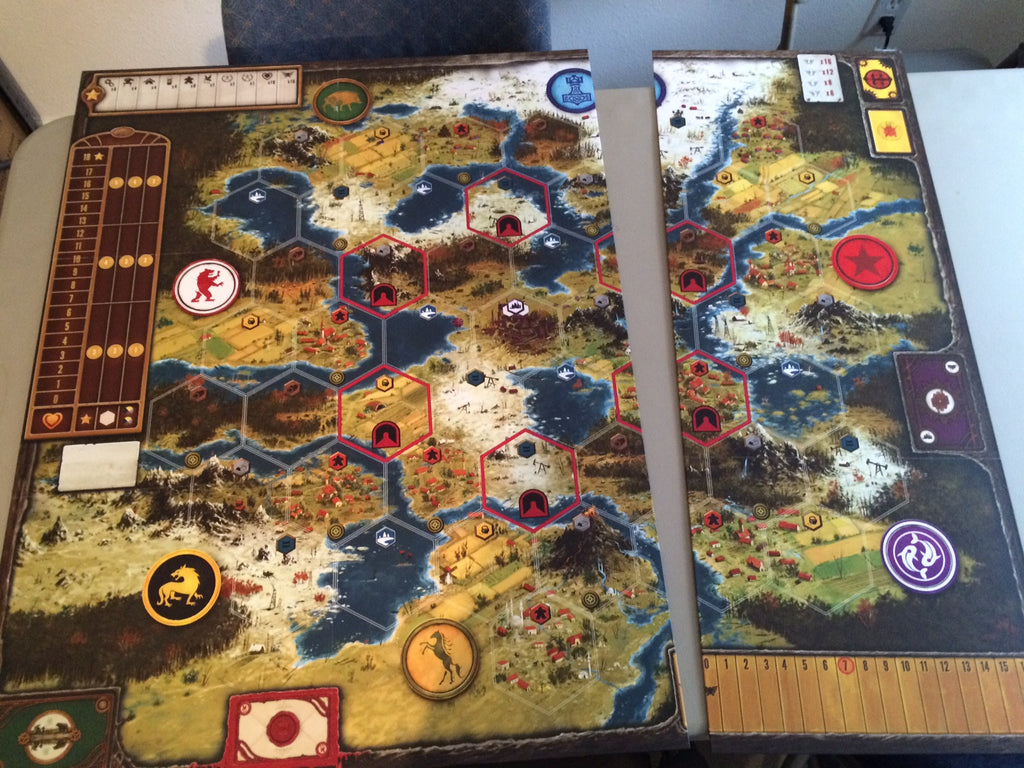 game board extension (Scythe)