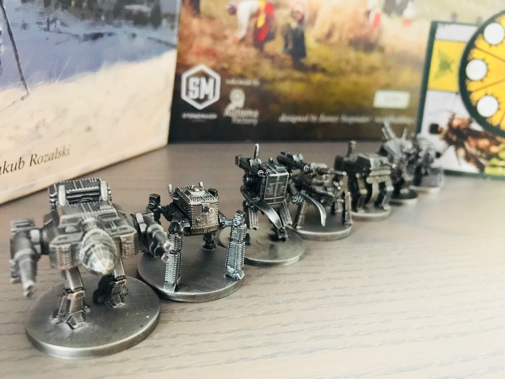 Scythe Metal Mechs (restock date unknown)