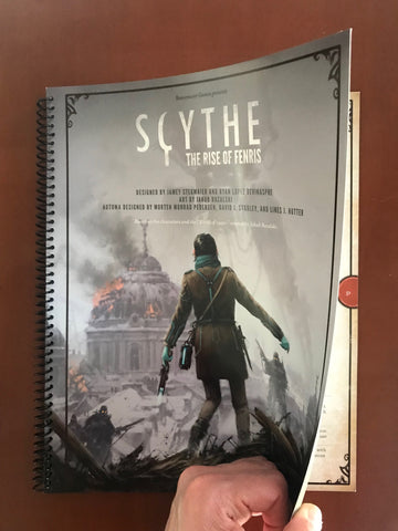13 Scythe: The Rise of Fenris Miniatures