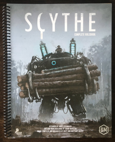 Scythe Complete Rulebook (spiralbound) (preorder ships in August)