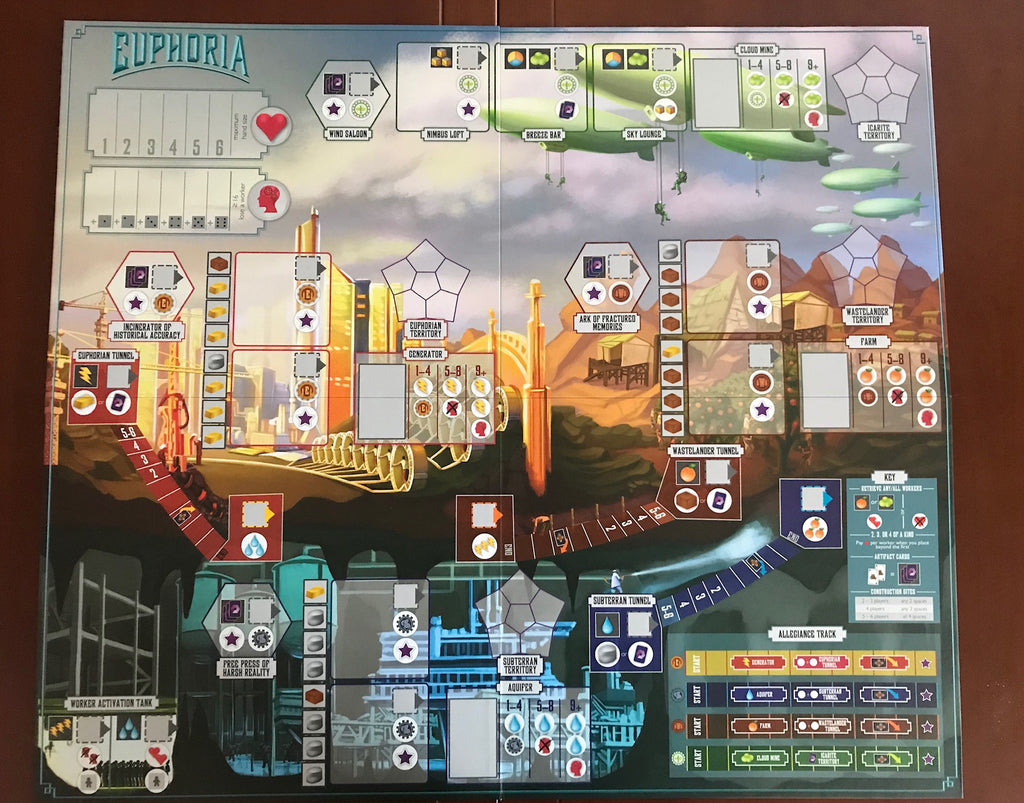 Euphoria game board (optional)