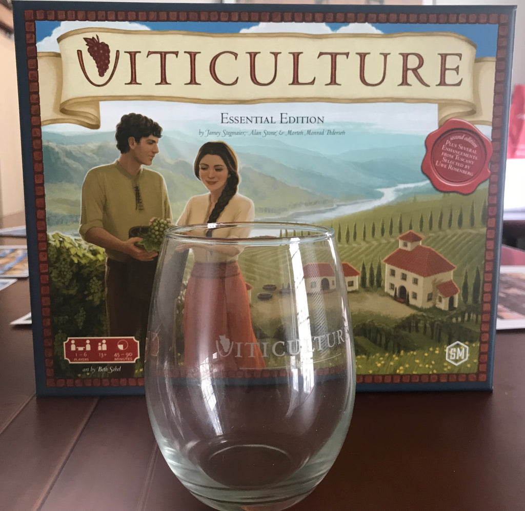 4 Viticulture Wine Glasses