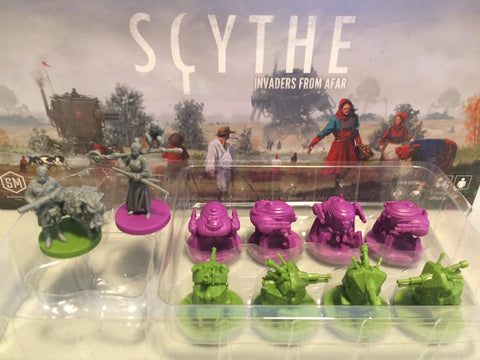 10 Scythe Invaders from Afar Miniatures (in stock in late September)
