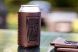All Grain Leather Beer Holder