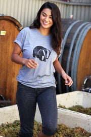 Nero D'Avola Badger T-Shirt