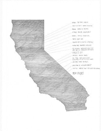 Broc California Vineyard Map