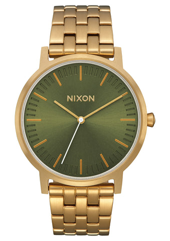 Nixon Porter All Gold/Olive Sunray
