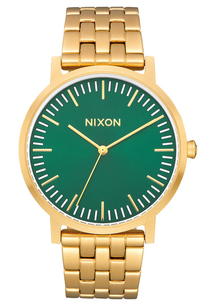 Nixon Porter All Gold/Green Sunray