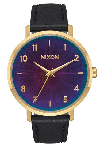 Nixon Arrow Leather Gold/Black/Rainbow