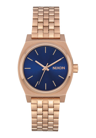 Nixon Medium Time Teller Rose Gold/Indigo