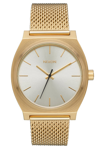 Nixon Time Teller Milanese All Gold/Cream